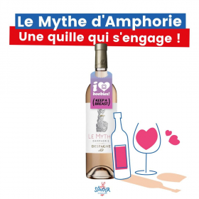 Un Vin de France rosé, produit près de Bordeaux, frais et fruité avec des notes de pamplemousse.  Une quille qui s'engage avec l'association @keepabreast pour la lutte contre le cancer du sein.  L'abus d'alcool est dangereux pour la santé. À consommer avec modération. · · · #lesavour #levinquivousvabien #vin #winetime #vinrose #vinrosé #vinfrancais #vinfrance #bordeaux #madeinfrance #france #octobrerose